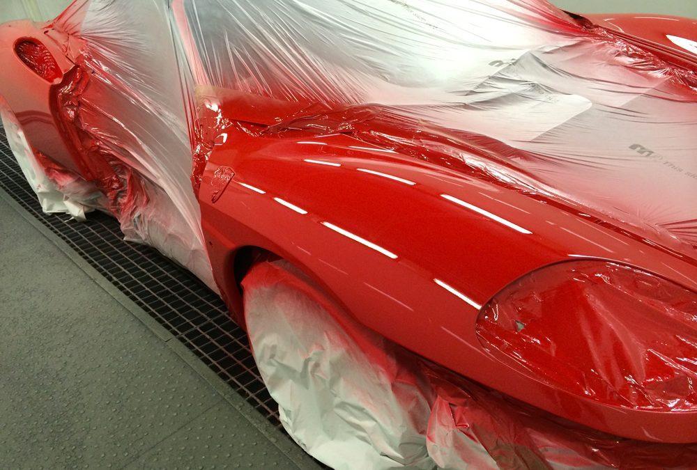 Ferrari Modena Spider : Une restauration en profondeur
