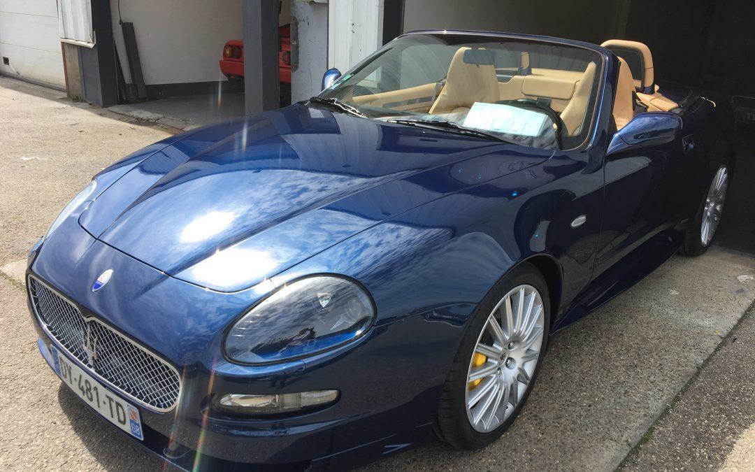 Restauration d'une Maserati 4200 : un challenge esthétique