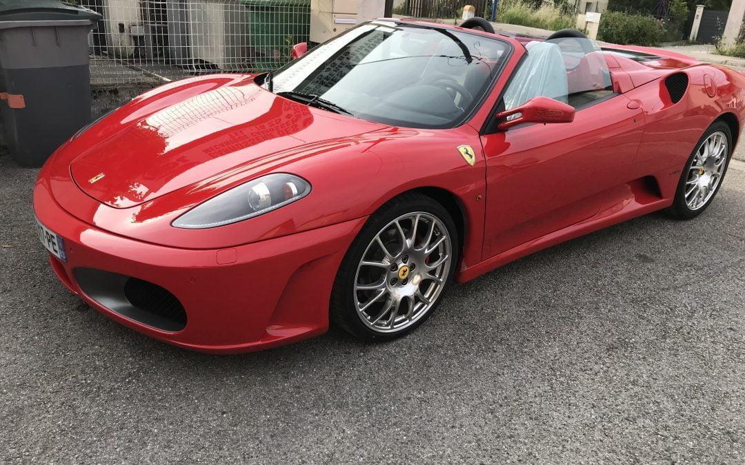 Finitions d'une Ferrari f430