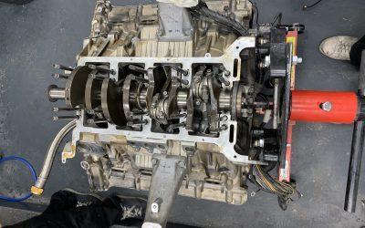 Réfection de moteur d'une Maserati 4200