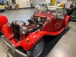 Réfection de moteur d'une MG TD