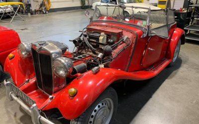 Réfection du moteur d'une MG TD