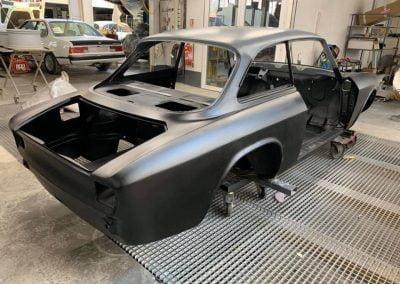 Alfa Roméo bertone protection epoxy