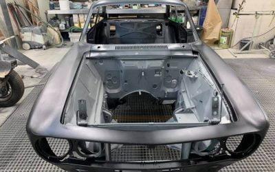 Restauration carrosserie d'une Alpha Romeo Bertone