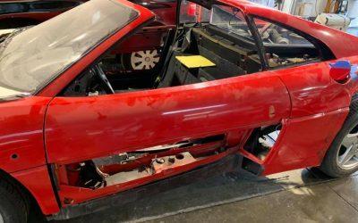 Ferrari 348 TS- Peinture complète et double vernissage