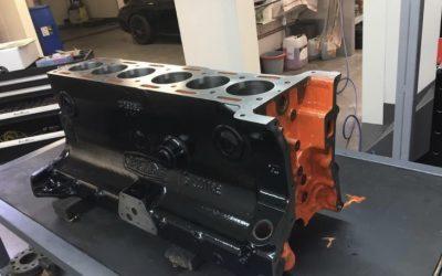 Restauration d'un moteur Jaguar MK2 1961