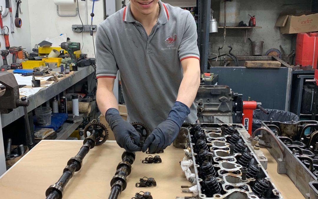 Refection moteur Mercedes 280 SL